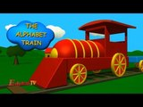 The Alphabet train   Learning Letter   ABC Train for Children and Babies