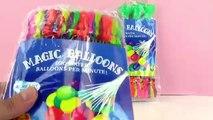 MAGIC BALLONS Bombes à eau à remplir rapidemment! 222 Bombes à eau! Joue avec moi