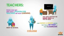 Why is teaching a noble profession?