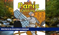 FAVORIT BOOK The Paris Coloring Book: Featuring the history, art and architecture of France.