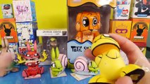 Kidrobot Mega Unboxing BFFs Simpsons Futurama Chaos Bunnies Dunny Blind Box Disney Cars Toy Club
