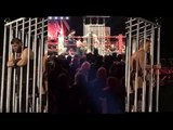 Roman Reigns & Seth Rollins Lock Kevin Owens & Chris Jericho In A Cage After WWE Raw 12_19_16 - YouTube