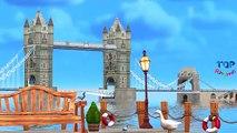London Bridge Is Falling Down Nursery Rhymes For Babies, Children | London Bridge Is Falling Rhymes