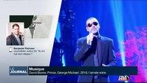 Georges Michael, David Bowie, Prince : 2016, l'année noire