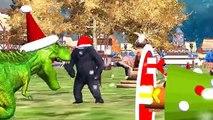 Gorilla Rhymes For Children   Dinosaur Cartoons For Kids   Gorilla Vs Dinosaur Fight   King Kong