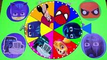Superhero vs Villain Game - PJ Masks, Paw Patrol, Mashems, Spiderman,Captain Hook Surprise Toys