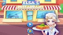 Elsa Restaurant Spinach Lasagna: Disney Princess Elsa - Best Game for Little Girls