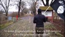 Terör örgütü bayrağıyla Danimarka'dan Almanya'ya geçti | En Son Haber