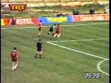 21η Δόξα Δράμας-ΑΕΛ 2-1 1994-95 2η κίτρινη & δηλώσε�