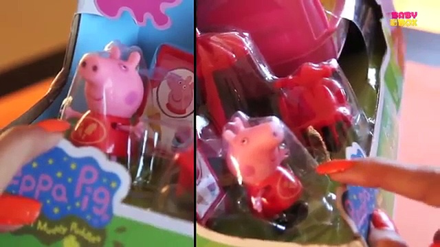Peppa Pig | Peppa Pigs Theme Park Ice Cream Van | New Peppa Pig Toys Collection