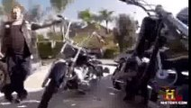 10 Bandidos attacks 4 Hells Angels and ends up on the run - video