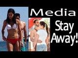 Leaked Spain Pics: Distressed Katrina Kaif Asks Media To Stop Being Invasive
