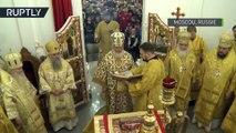 Le patriarche de Moscou dirige la liturgie en hommage aux victimes du crash de l'avion TU-154