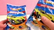 Cadeaux Mattel Hot Wheels – Unboxing et Démo – Voitures et moto sorties de lœuf surprise