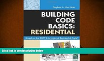Online International Code Council Building Code Basics: Residential: Based on 2009 International