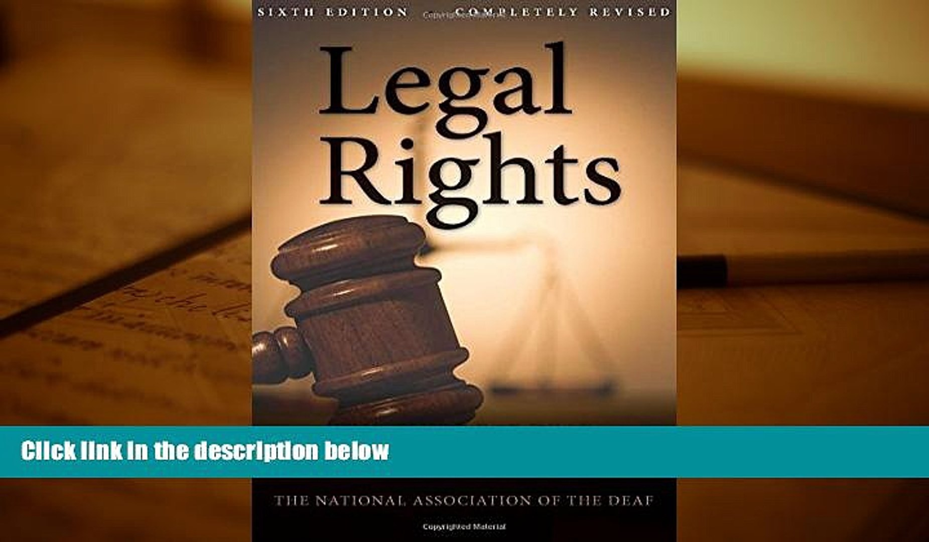 Online National Association of the Deaf Legal Rights, 6th Ed.: The Guide for Deaf and Hard of