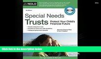 Buy Stephen Elias Attorney Special Needs Trusts: Protect Your Child s Financial Future (Special