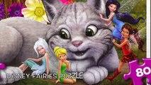 Disney FAIRIES Puzzle Games Junior Rompecabezas de Fairies JR Games Kids Learning Toys Play Puzzles