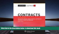 READ book  Casenote Legal Breifs: Contracts, Keyed to Farnsworth, Sanger, Cohen, Brooks, and