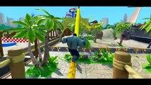 HULK vs GREY HULK vs SPIDERMAN Funny Race with Disney Pixar Cars Rayo McQueen Nursery Rhymes