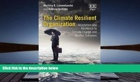 Price The Climate Resilient Organization: Adaptation and Resilience to Climate Change and Weather
