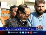 Chaudhry Shujaat Hussain  visits late Junaid Jamshed's residence
