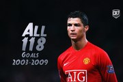 Cristiano Ronaldo | All 118 Goals For Manchester United - HD | [Công Tánh Football]