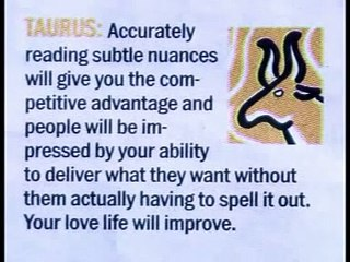 Todays Horoscope of Taurus