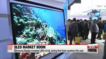 Korea's exports expected to perform better next year thanks to OLED boom