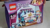 LEGO Friends Stephanie Unboxing Assembling with Minions Dancing