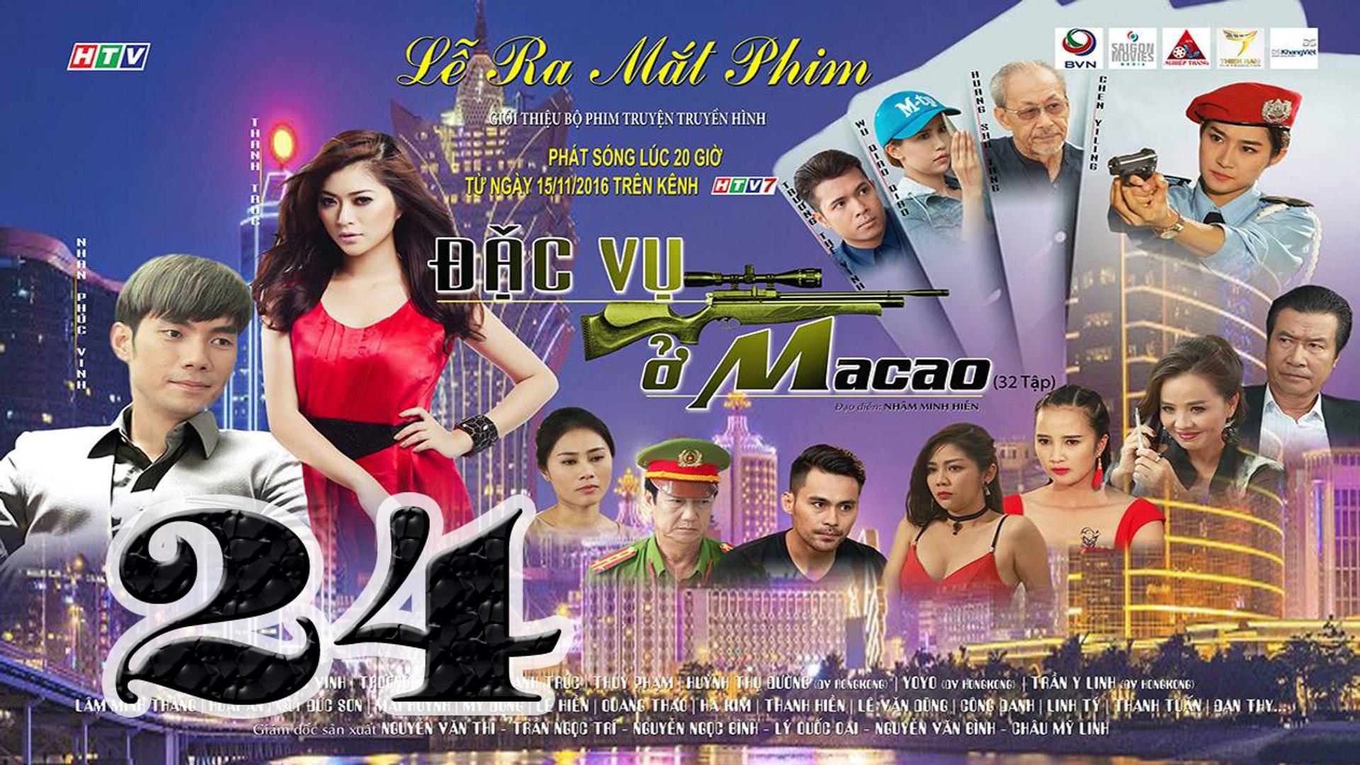 Đặc Vụ Ở Macao Tập 24 HTV7 - Phim Việt Nam