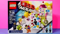 The Lego Movie Cloud Cuckoo Palace Emmet Wyldstyle Executron Toys Review Disney Cars Toy Club