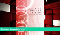 BEST PDF  Leading Corporate Citizens: Vision, Values, Value Added [DOWNLOAD] ONLINE