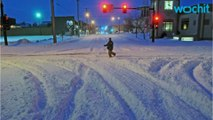Northern Plains Hammered By Blizzards, Ice Storms
