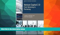 PDF  Venture Capital 2.0: From Venturing to Partnering (Annals of Corporate Governance) Program