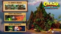 Crash Bandicoot N Sane Trilogy Gameplay Part 1 - Crash Bandicoot PS4 Gameplay (REAL GAMEPLAY 60fps)