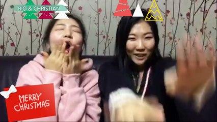 How do we celebrate Christmas in Korea? | We dedicate a Christmas song/ Cómo celebramos la Navidad en Corea