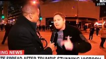 CNN outs themselves by using their own cameramen as fake protester.