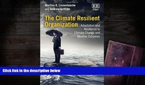Pre Order The Climate Resilient Organization: Adaptation and Resilience to Climate Change and