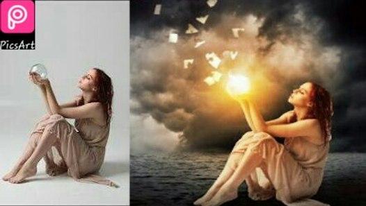 Picsart Editing Tutorial Alone Girl Background Change Stylish Photo Editing Amazing Editing On Picsart Video Dailymotion