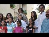 Amitabh Bachchan, Abhishek Bachchan And Aishwarya Rai Bachchan Support The Girl Child!
