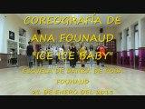 Coreografía por Ana Founaud de _Ice ice Baby_ de Vanilla ice