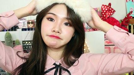 Christmas Makeup ♪| SSongyAng (꼬막눈 메이크업 - 겨울 메이크업)