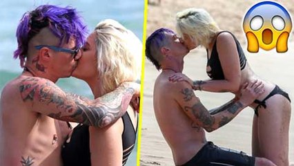 Paris Jackson & BF Michael Snoddy Make Out Half-Naked On Hawaii Beach | Unseen Pictures