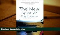 Audiobook  The New Spirit of Capitalism Luc Boltanski Pre Order