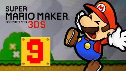 Lets Play - Super Mario Maker 3DS ONLINE [09] 100 Mario Challenge Mittel - Unbesgiebarer Wiggler