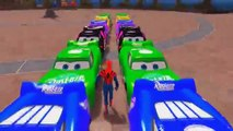 Nursery Rhymes Disney Pixar Cars Spiderman & McQueen Colors Monster Cars Songs for Children