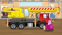 The Red Race Cars & Sports Car Racing | Service & Emergency Vehicles Cartoons for children