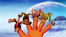 Finger Family Rhymes Sharks Cartoons | Dragons Finger Family Nursery Rhymes For Children