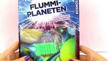 Kosmos Flummi Planeten | hüpfende Gummi Bälle in tollen Regenbogen Farben selber machen | Unboxing